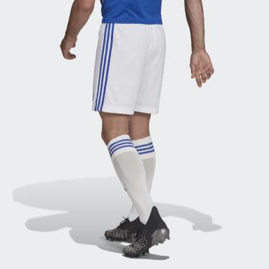 Fotbal bílá Domácí šortky Leicester City FC 21/22