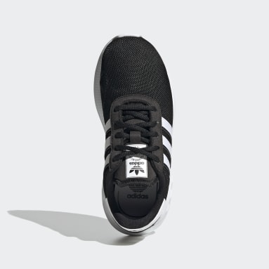 Kids Originals Black LA Trainer Lite Shoes