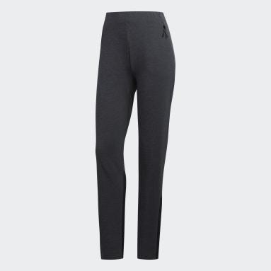 Women Running Black Track Pants