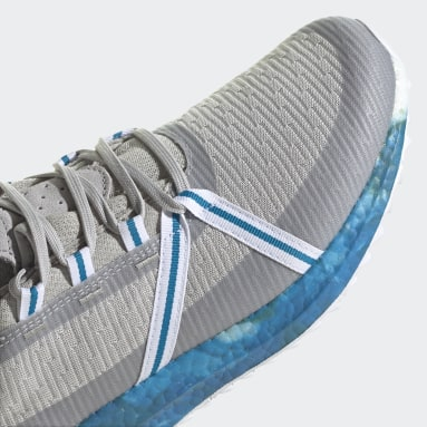 Golf Grey Solarthon Primeblue Limited-Edition Spikeless Golf Shoes