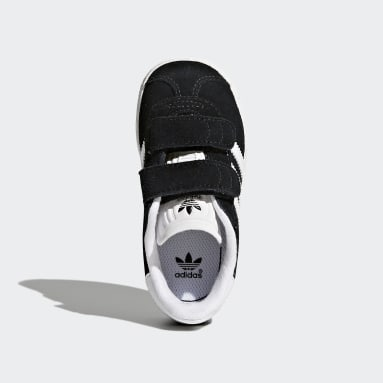 Kids Originals Black Gazelle Shoes