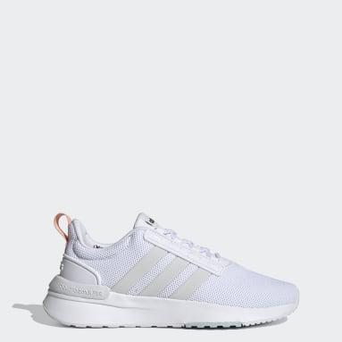 Women's Essentials White Racer TR21 Shoes