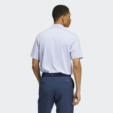 Men Golf Purple Ultimate365 Solid Polo Shirt