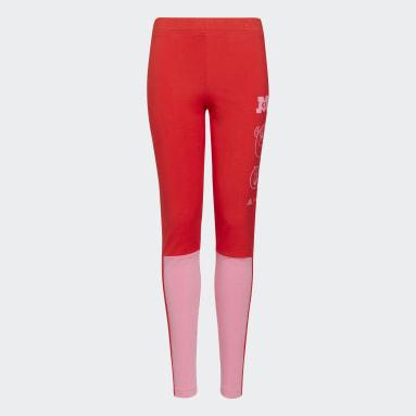 Girls Lifestyle Red adidas x Disney Pixar Monsters, Inc. Tights