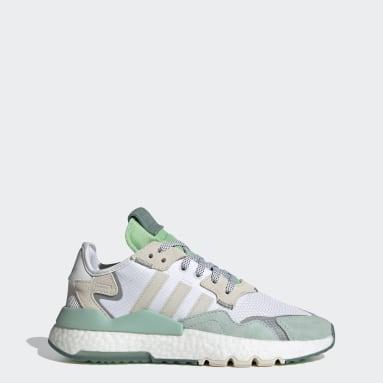 Women Originals White Nite Jogger Shoes