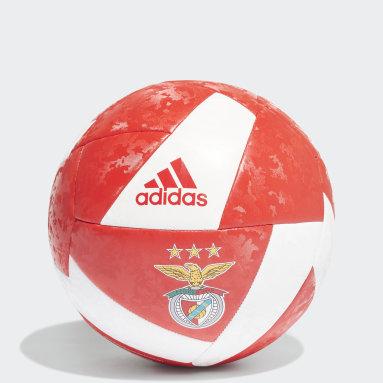 Men Football Red Benfica Club Ball