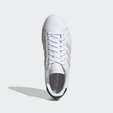 Men Tennis White Grand Court Shoes