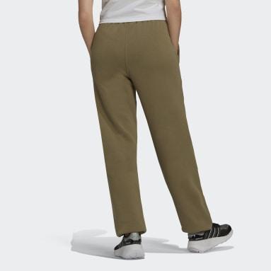 Pantaloni adicolor Essentials Fleece Joggers Verde Donna Originals