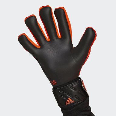 оранжевый Вратарские перчатки Predator League