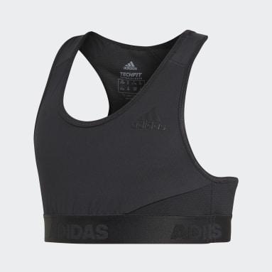 Brassière de sport Alphaskin Noir Filles Yoga