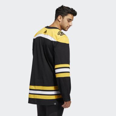 Men's Hockey Black Bruins Home Authentic Jersey