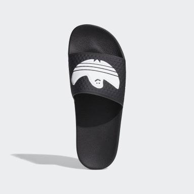 Men Originals Black Shmoofoil Slides