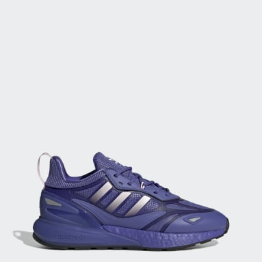Women's Originals Purple ZX 2K Boost 2.0 Shoes