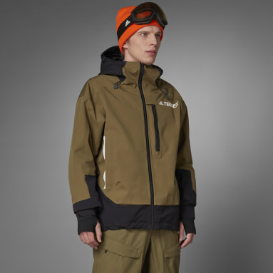 Heren Wintersport Groen Terrex MYSHELTER Snow 2-Layer Insulated Jack