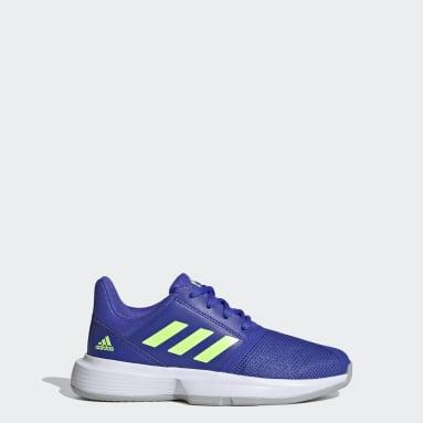 Kinderen Tennis Blauw CourtJam Tennisschoenen