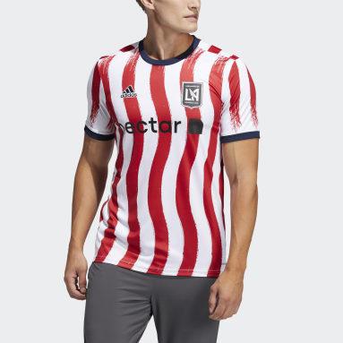 Men's Soccer Multi Los Angeles FC Americana Pre-Match Jersey