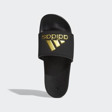 Women Training Black Adilette Comfort Slides