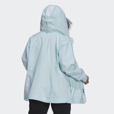 Giacca BSC 3-Stripes RAIN.RDY Verde Donna City Outdoor