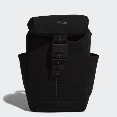 Women Training Black Mini Backpack