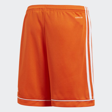 Pantalón corto Squadra 17 Naranja Niño Gimnasio Y Entrenamiento