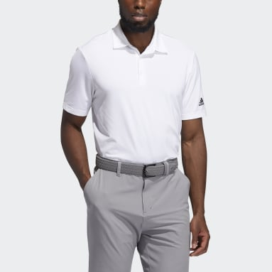 Men's Golf White Ultimate365 Solid Polo Shirt