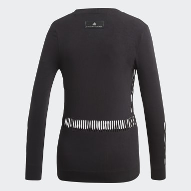 Playera Warp Knit Negro Mujer adidas by Stella McCartney