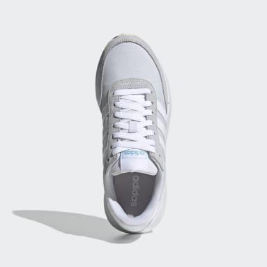 Zapatillas Run 60s 2.0 Azul Mujer Diseño Deportivo