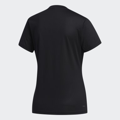 Polo Designed 2 Move Solid Negro Mujer Training