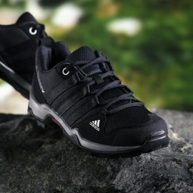 Kids TERREX Black AX2R Shoes