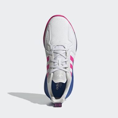 Women Originals White ZX 2K Flux Shoes