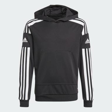 Sweat-shirt à capuche Squadra 21 Noir Enfants Football