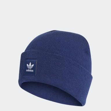 Originals Blue Adicolor Cuff Beanie