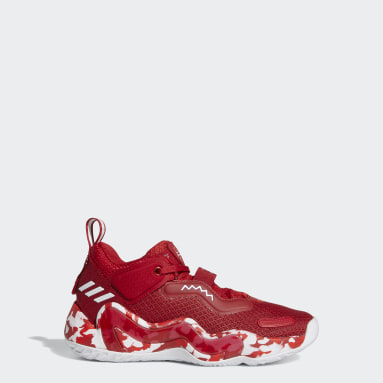 Youth Basketball Red Donovan Mitchell D.O.N. Issue #3 Shoes