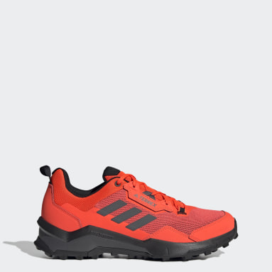 Terrex AX4 Primegreen Hiking Shoes Pomarańczowy