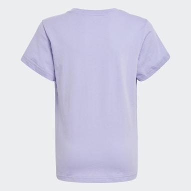 Camiseta Estampada Adicolor Roxo Kids Originals