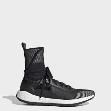 ผู้หญิง adidas by Stella McCartney สีดำ รองเท้า Pulseboost HD Mid