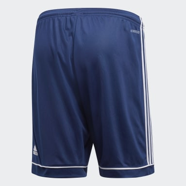 ผู้ชาย ฟุตบอล สีน้ำเงิน กางเกงขาสั้น Squadra 17