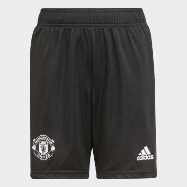 Kinderen Voetbal Zwart Manchester United Tiro Training Short