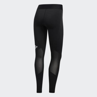 Women Cycling Black Techfit Long Leggings
