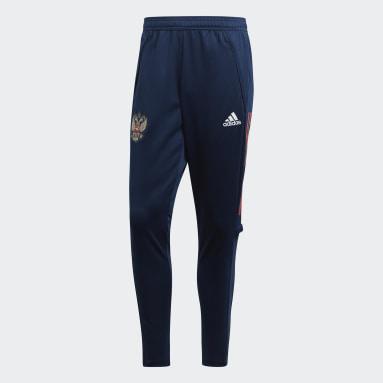 Pantaloni da allenamento Russia Blu Calcio