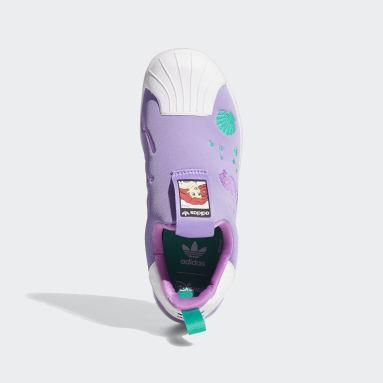 Zapatillas Superstar 360 Disney Plomo Niño Originals