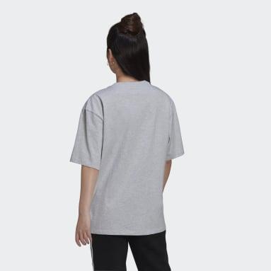 Women Originals Grey Logo Play T-Shirt