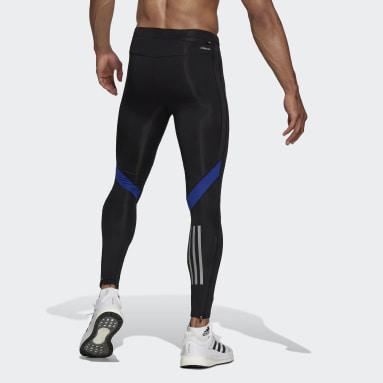 Tight lunghi Own The Run Blu Uomo Running
