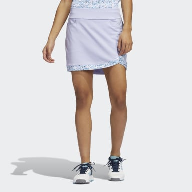 Jupe-short Ultimate365 Printed Primegreen Violet Femmes Golf