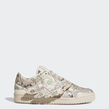 Men Originals Beige Forum 84 Low ADV Shoes