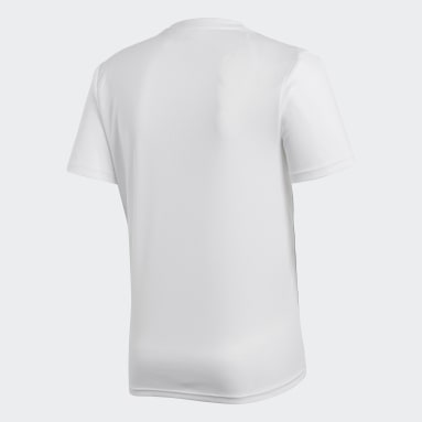 Men Gym & Training White Core 18 Training Jersey