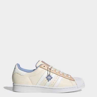 Men Originals Beige Superstar Shoes