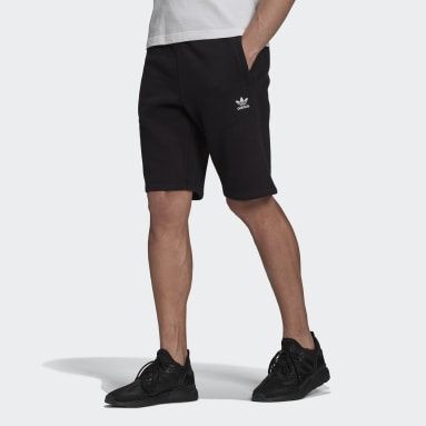Muži Originals černá Šortky Adicolor Essentials Trefoil