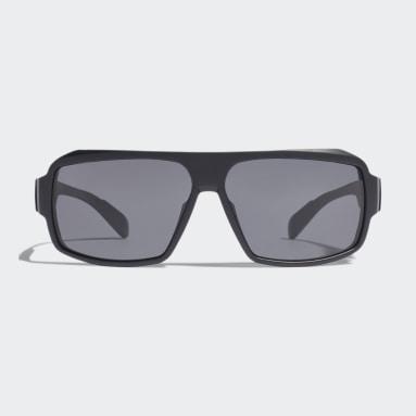 Running Black Sport Sunglasses SP0026