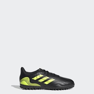 Children Soccer Black Copa Sense.4 Turf Shoes